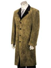 3pc suit vested Brown zoot suit