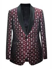 Nardoni Brand Mens polka dot pattern~ Fashion Prom / Fashion Matching