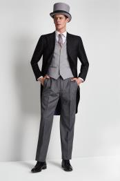 Pant Fastening Notch Lapel