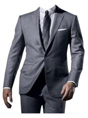 Mens Grey  james bond Tuxedo