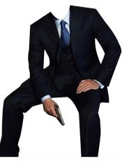 Dark Blue james bond Look Suit