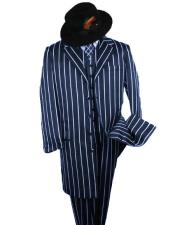 GANGSTER Navy Blue And