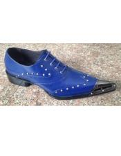 Blue Four Eyelet Lacing