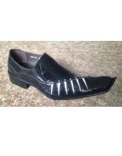 Cushioned Insole Black Leather