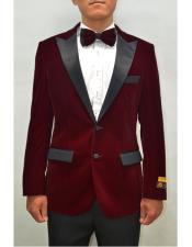 Lapel Fashion Smoking Casual Velour Cocktail Tuxedo Mens blazer Jacket