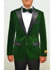 Lapel Fashion Smoking Casual Velour Cocktail Tuxedo velour Mens blazer Jacket