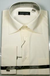 Avanti Uomo French Cuff Shirt Ecru