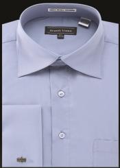 Avanti Uomo French Cuff Shirt Blue