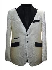 Alberto Nardoni Trendy Unique  Prom Blazers Sparkly Floral ~ Flower Two