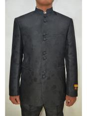Mens Eight Button Paisley Pattern