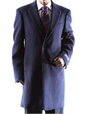 Dress Coat Caravelli   Long Jacket 2 Buttons Style Mens