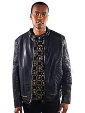 Gally Gold Leaf Regular Fit  Black Jacket