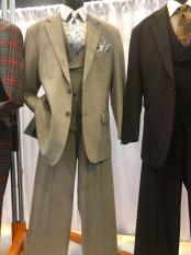 Single Breasted Notch Lapel Den Suit