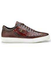 Belvedere Brand Brown Crocodile