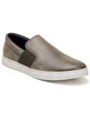 Authentic Slip On Ghurka Authentic Genuine Skin Italian Tennis Dress Sneaker Shoes
