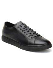 Authentic Genuine Skin Italian Tennis Dress Sneaker Shoes Lace Up Charcoal