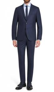 Ryan Wide Lapel Navy