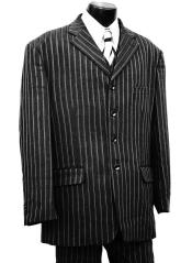 Pinstripe Wool 3pc Zoot Suit Set