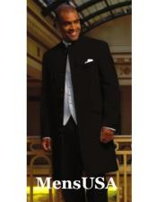 Collarless Blazer Nehru Jacket Marriage Groom Wedding Black