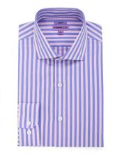 Spread Collar Slim Fit Cotton Rose Mens Dress Gingham Shirt - Checker