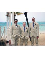 Beach Wedding Attire Suit
