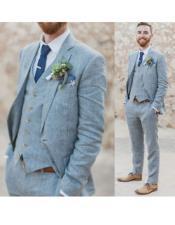 Beach Wedding Attire Suit Menswear Grey $199