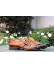 Closure Carrucci Shoe Cognac
