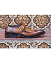 On Cognac Wingtip Design