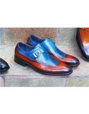 ~ Cognac Shoe Wingtip