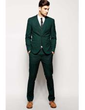 Mens Beach Wedding Attire Suit Menswear Green $199