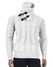 Long Sleeve Sweater White