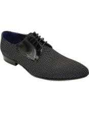 Black Lace Up Shoe
