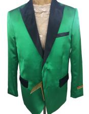 Mens Green Cheap Priced Designer Fashion Dress Casual Blazer On SaleTwo Button