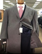 Mens Shawl Lapel Grey Blazer On