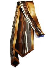 Long Oak Silk Tie