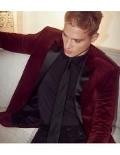 2020 - velvet suit