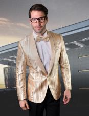 Tuxedo Prom Wedding ~ Shiny Flashy Blazer