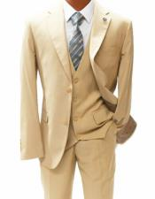 Fit Notch Lapel Suit