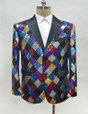 Fashion Rainbow Suit