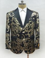 Black-Gold Suit