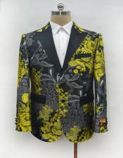 Fashion Gold Suit