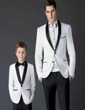 ~ Dad And Son Matching Kids Sizes Suit Perfect for toddler