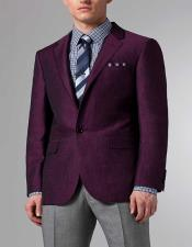 Purple Linen Suit $199 Jacket and Pants