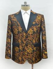 Mens Casual Print Fashion Printed Fabric Perfect to Match with Jeans Available in Big and Tall