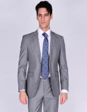 & Wool Fabric Suit