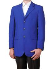 Mens Lucci Suit Royal