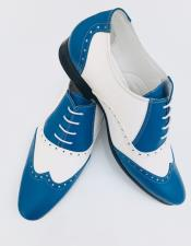 Alberto Nardoni Leather Upper Two Toned Wing Tip