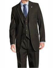 Adams Mens Single Breasted Peak Lapel Hunter Suit