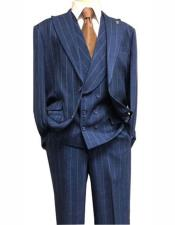 Adams Mens Dark Navy Single Breasted Suit Peak Lapel Two Button