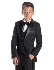 James Bond Black Tuxedo